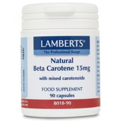 Beta caroteno natural 15mg