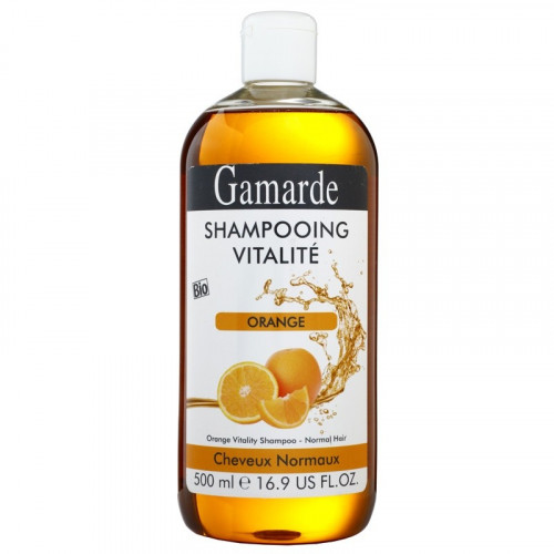 Champú Revitalizante Naranja (cabello normal) 500 ml. Gamarde