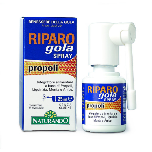 Riparo Gola Spray 25 ml. Naturando