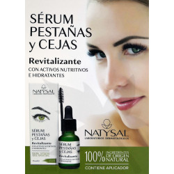 Sérum Pestañas y Cejas Revitalizante 15 ml. Natysal