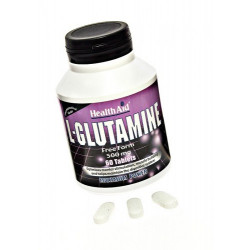 L-Glutamina 500mg. 60 caps. HealthAid