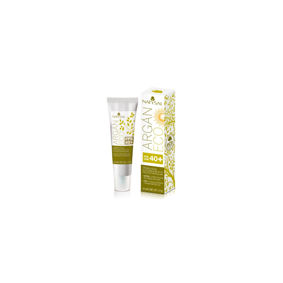 Crema Argan Eco FPS 40+ 50 ml
