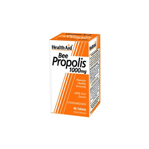 Propolis 1000mg 60 comp. HeathAid